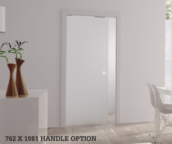 bathroom pocket door