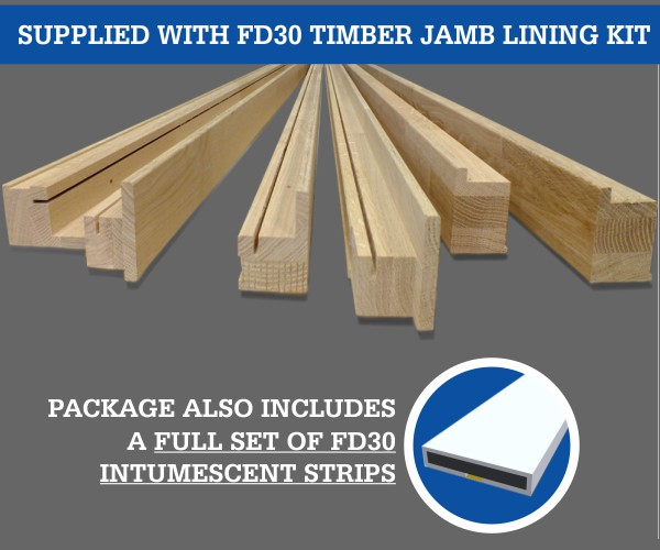 Eclisse Double Fire Rated Jambs