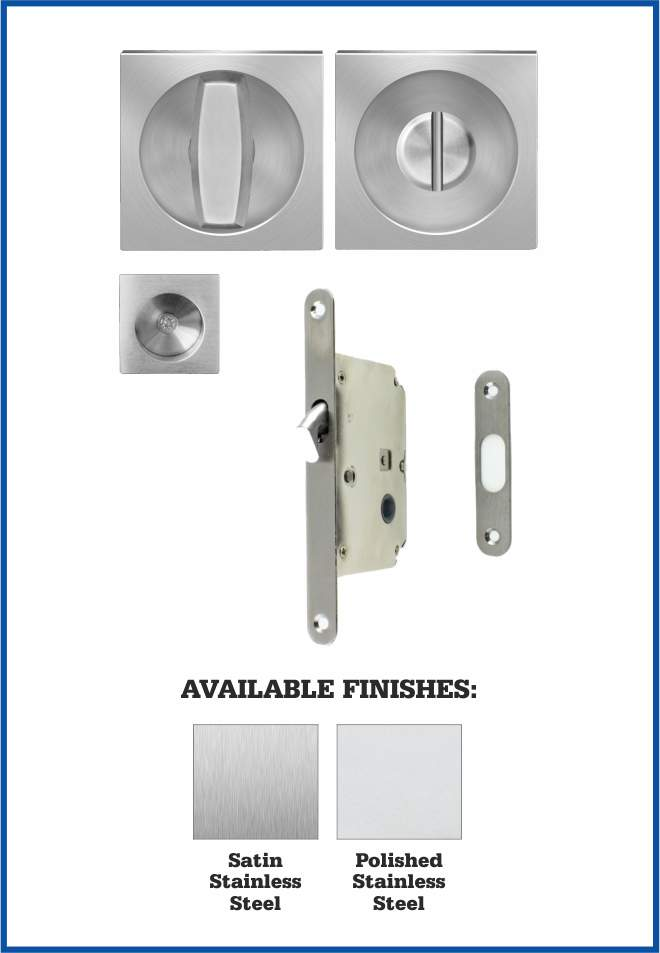 Karcher Square Bathroom Lock