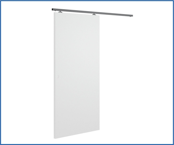 wall mounted sliding door kit 2 metre track paris 1