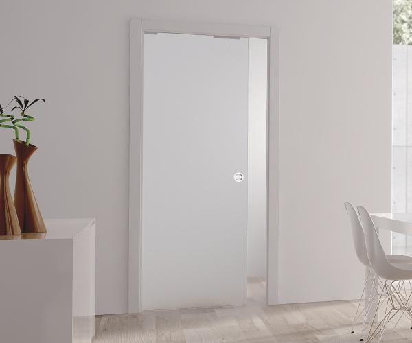Glass Pocket Door System 125mm Wall Thickness Pocket