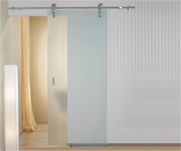 eclisse vetro glide door system surface mounted glass sliding door