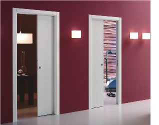 Unilateral Pocket Doors