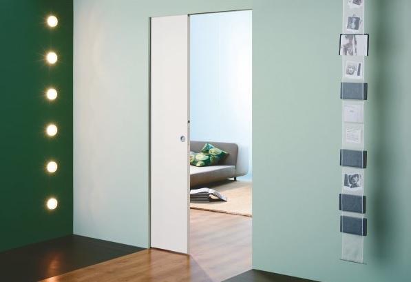 flush door system